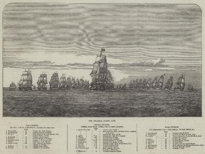 The Channel Fleet, 1790--Giclee Print