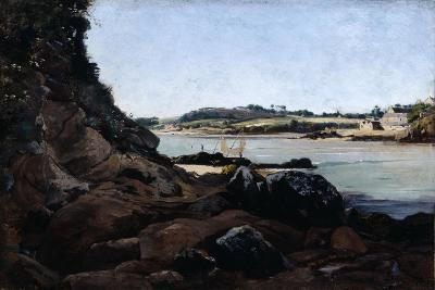 The Channel of L'Ile Tristan, 1873-Emmanuel Lansyer-Giclee Print