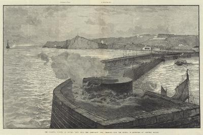 The Channel Tunnel at Dover--Giclee Print