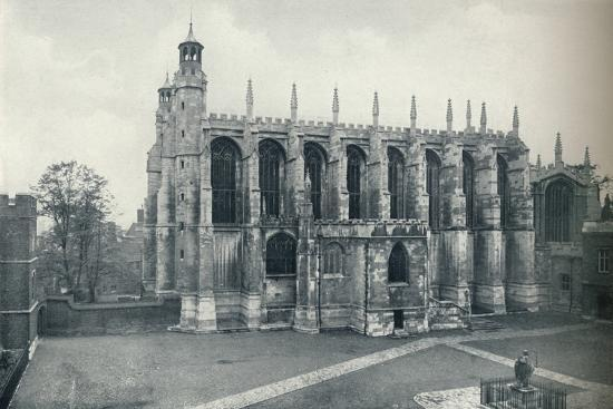 'The Chapel, from the Roof of Long Chamber', 1926-Unknown-Photographic Print