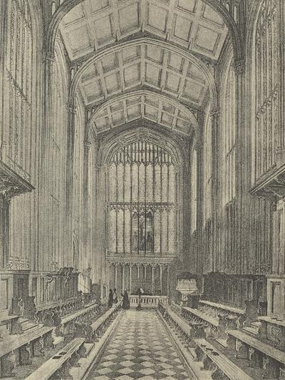 The Chapel, Looking East, 1844--Giclee Print