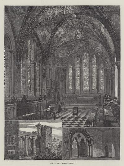 The Chapel of Lambeth Palace--Giclee Print