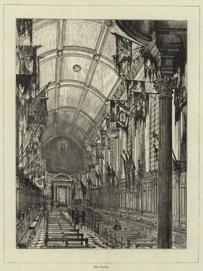 The Chapel of the Chelsea Hospital--Giclee Print