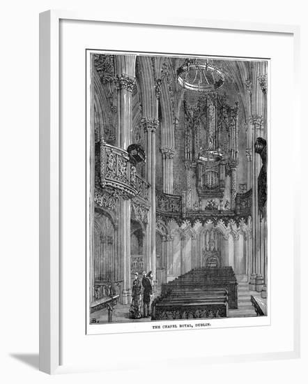 The Chapel Royal, Dublin, 19th Century--Framed Giclee Print