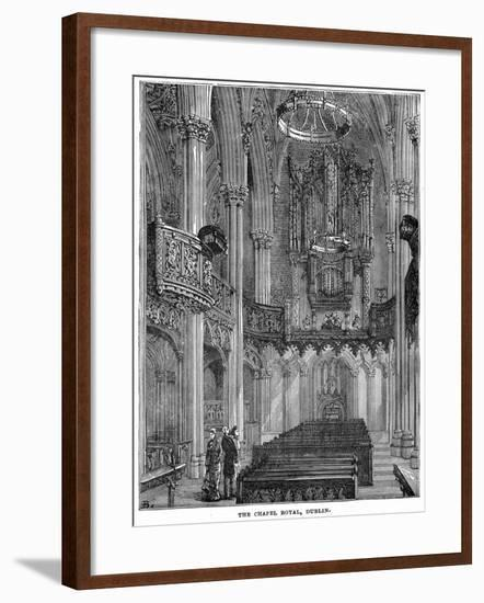 The Chapel Royal, Dublin, 19th Century--Framed Giclee Print