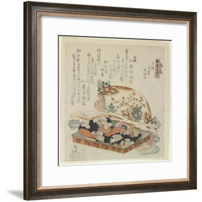 The Chapters of Yu_Gao, Wakamurasaki and Suetsumuhana-Ryuryukyo Shinsai-Framed Giclee Print