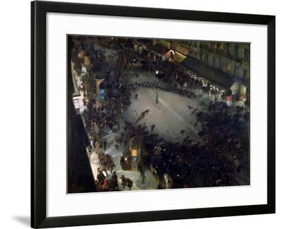 The Charge-Andre Devambez-Framed Giclee Print