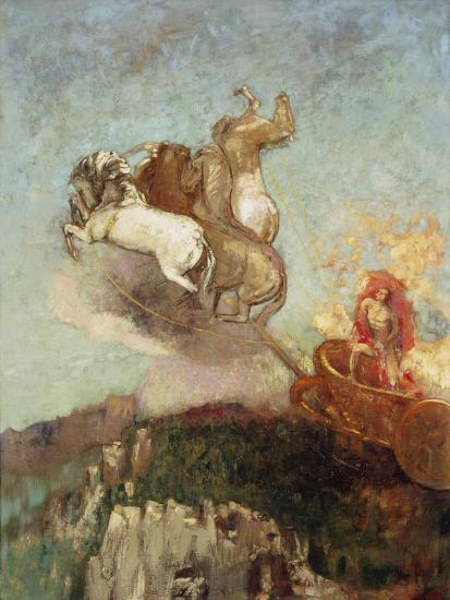 The Chariot of Apollo, 1907-08-Odilon Redon-Giclee Print