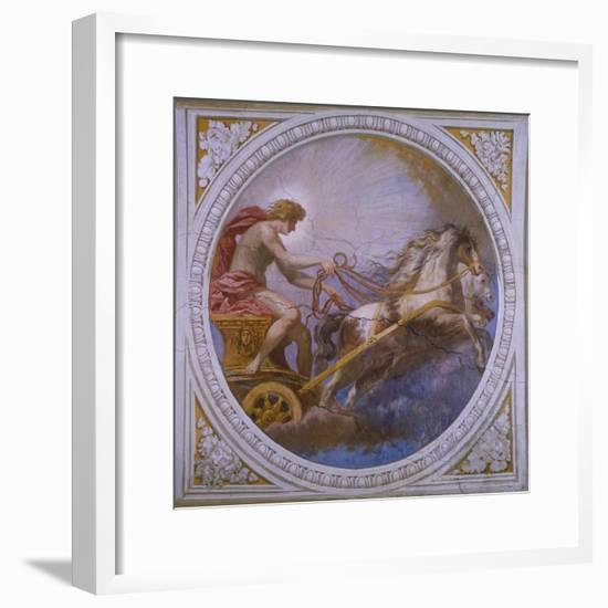 The Chariot of Sun-Pietro da Cortona-Framed Giclee Print