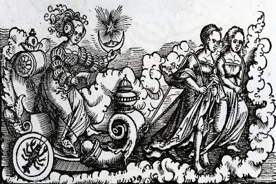 The Chariot, or the Moon in Cancer--Giclee Print