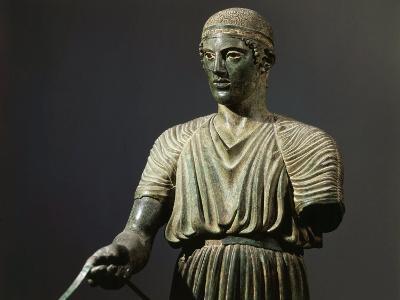 The Charioteer of Delphi, Bronze, c. 478 BC Archaic Greek--Photographic Print