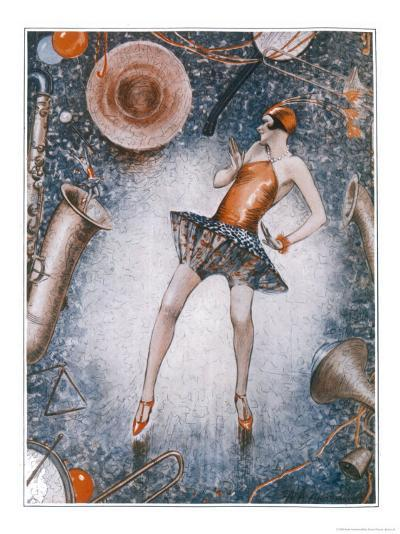 The Charleston is Generally a Very Revealing Dance-Anne Anderson-Giclee Print