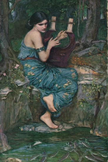 'The Charmer', 1911-John William Waterhouse-Giclee Print