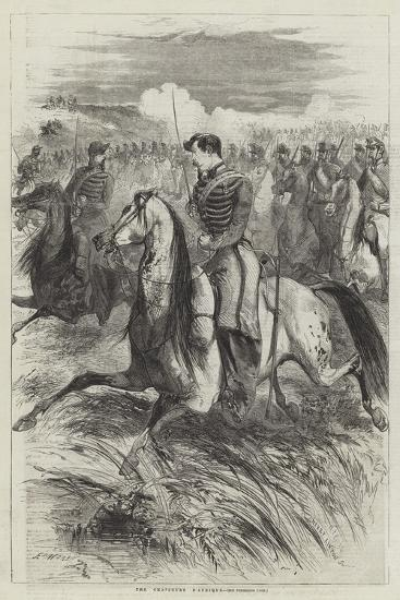 The Chasseurs D'Afrique-Edmond Morin-Giclee Print