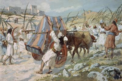 The Chastisement of Uzzah-James Jacques Joseph Tissot-Giclee Print