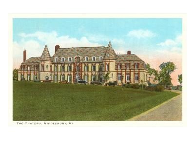 The Chateau, Middlebury, Vermont--Art Print