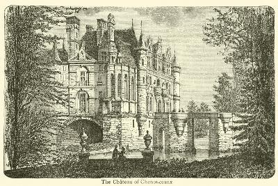 The Chateau of Chenonceaux--Giclee Print