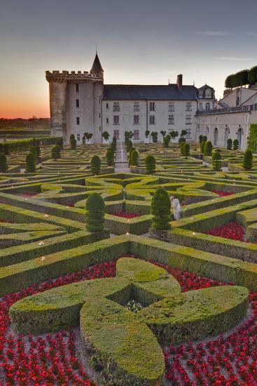 The Chateau of Villandry at Sunset-Julian Elliott-Photographic Print