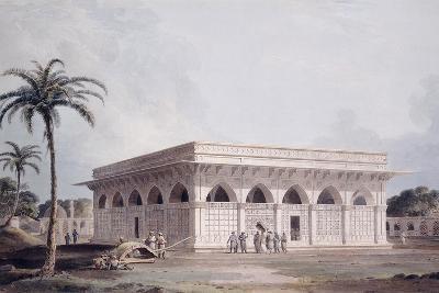 The Chaunsath Khamba Nizamuddin, Delhi-Thomas & William Daniell-Giclee Print