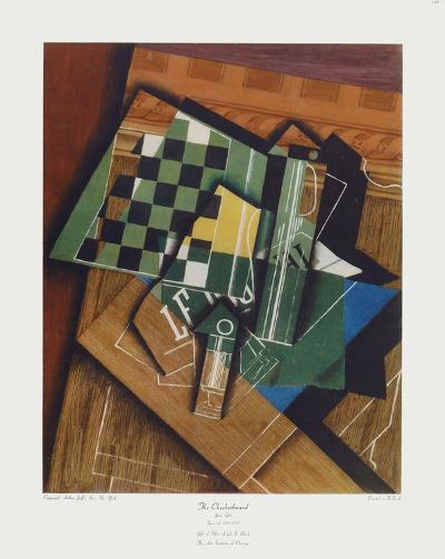 The Checkerboard-Juan Gris-Collectable Print