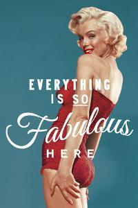 Fabulous Marilyn - Blue by The Chelsea Collection
