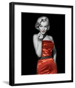 Lady In Red II by The Chelsea Collection