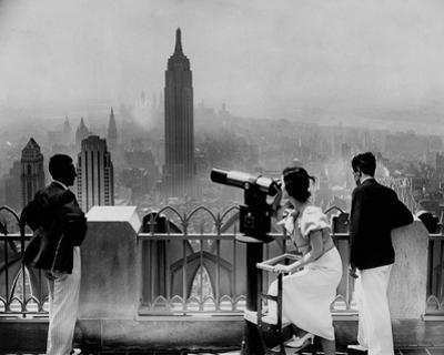 Manhattan, View from Radio City Music Hall, 1935 by The Chelsea Collection
