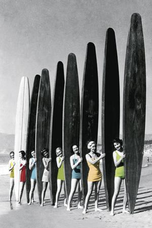 Surfin' Gals - Colour Pop