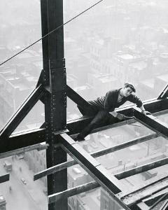 Beautiful Construction Workers Black And White Photography Artwork