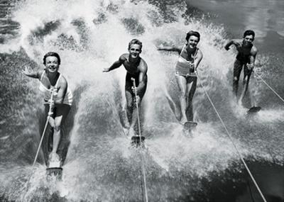 Water Ski Splash by The Chelsea Collection