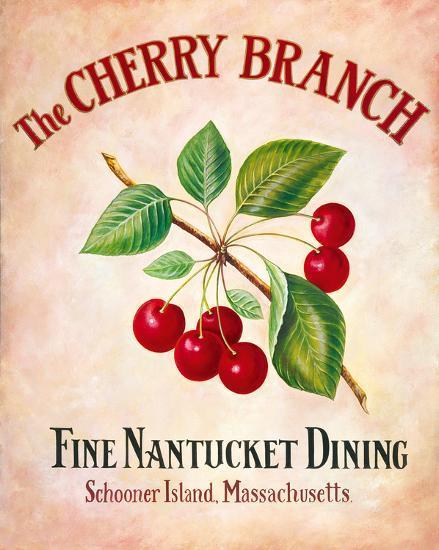 The Cherry Branch-Isiah and Benjamin Lane-Giclee Print