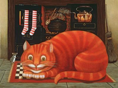 The Cheshire Cat, 1993-Frances Broomfield-Giclee Print