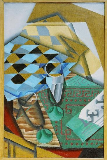 The Chess Board, 1914-Juan Gris-Giclee Print
