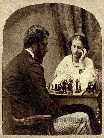 The Chess Players--Giclee Print