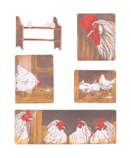 The Chicken Story-Van Der Sweep Ans-Art Print
