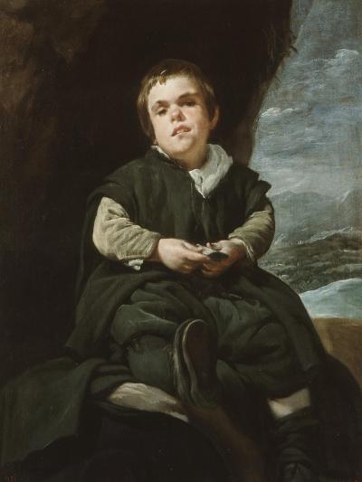 The Child of Vallecas Francisco Lezcano, C. 1637-Diego Velazquez-Giclee Print