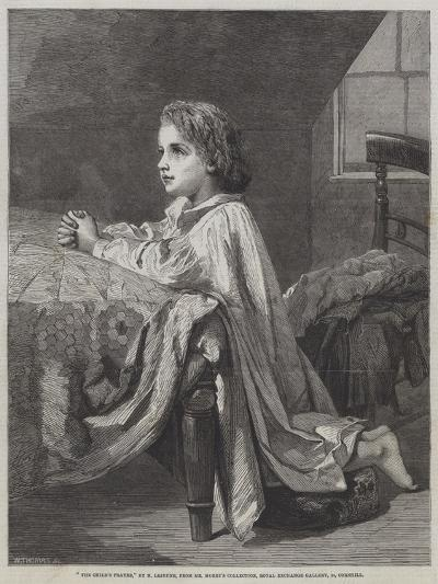 The Child's Prayer-Henry Lejeune-Giclee Print