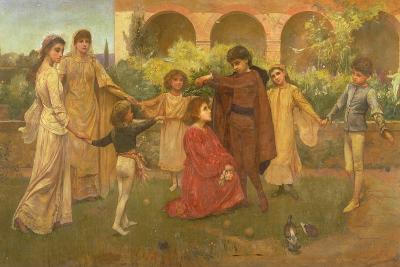 The Childhood of Dante-Jessie Macgregor-Giclee Print