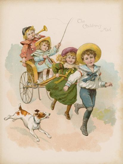 The Children's Mail--Giclee Print