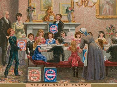 The Children's Party--Giclee Print