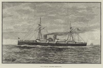 The Chilian Cruiser Esmeralda--Giclee Print