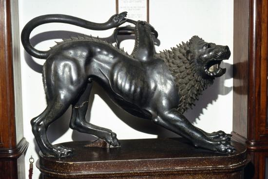 The Chimera Etruscan Bronze, 5th century BC-Unknown-Giclee Print