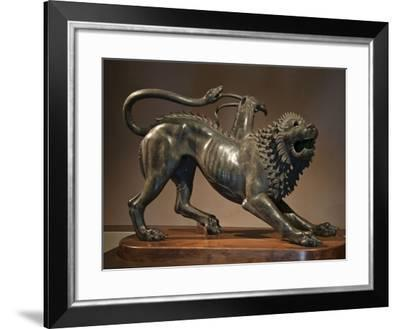 The Chimera of Arezzo--Framed Giclee Print