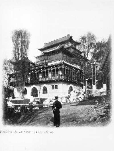 The China Pavilion at the 1900 Universal Exhibition, Paris, 1900--Photographic Print
