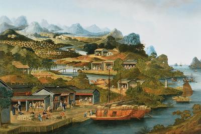The China Tea Trade, 1790-1800--Giclee Print