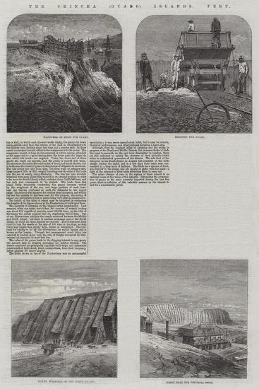 The Chincha (Guano) Islands, Peru--Giclee Print