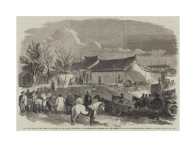 The Chinese Bringing to the British Head-Quarters the 300--Giclee Print