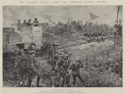 The Chinese Crisis, with the Tientsin Relief Column-Henry Charles Seppings Wright-Giclee Print