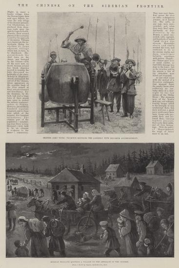 The Chinese on the Siberian Frontier-Paul Frenzeny-Giclee Print