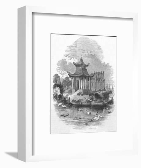 The Chinese Pagoda in Victoria Park, East London--Framed Giclee Print